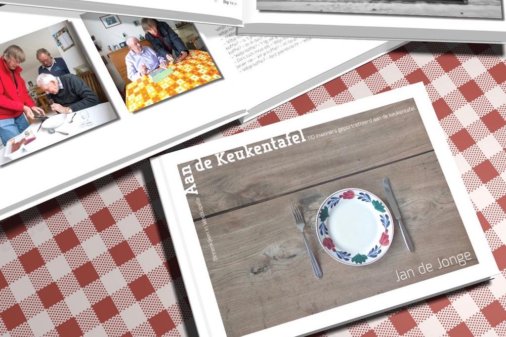 fotoboek jan de jonge aan de keukentafel